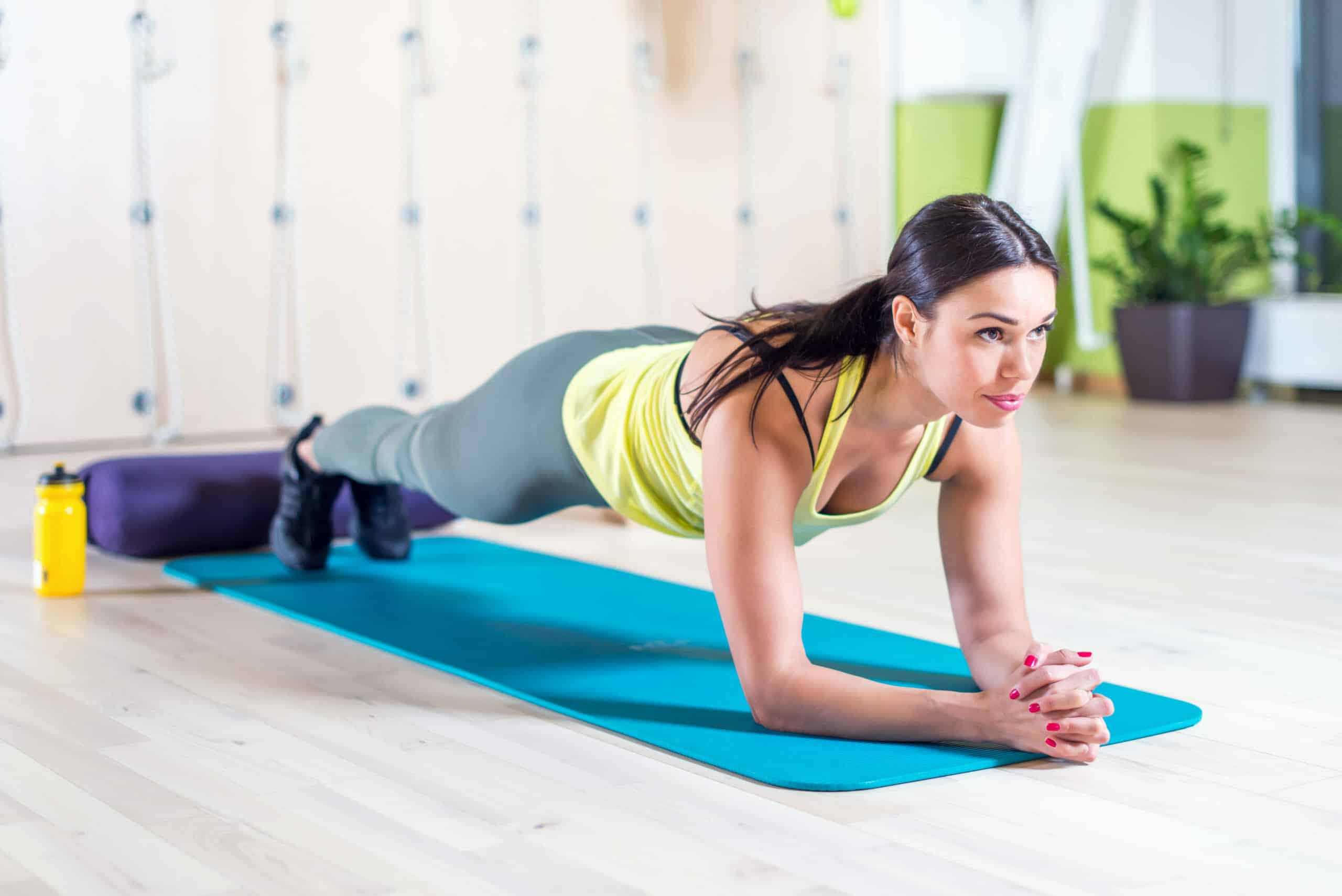 Core Exercises For Women:Planks