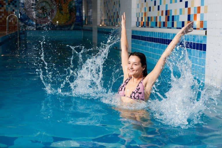 Aqua Aerobics:Get In Shape In the pool.