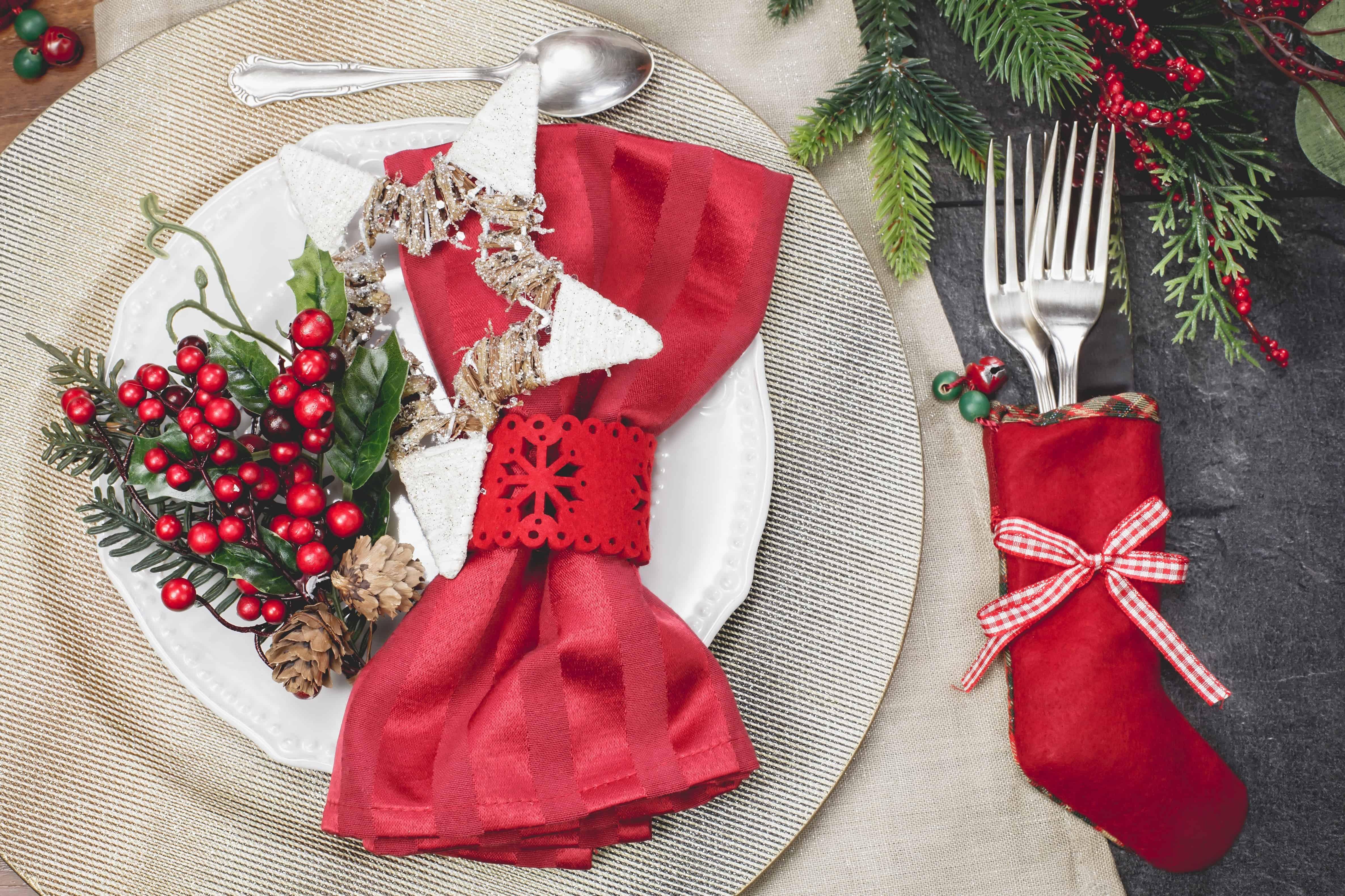 Healthy christmas menu