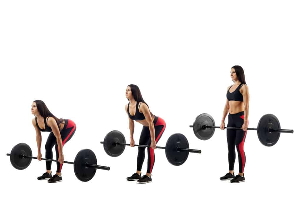Compound Exercises:deadlifts