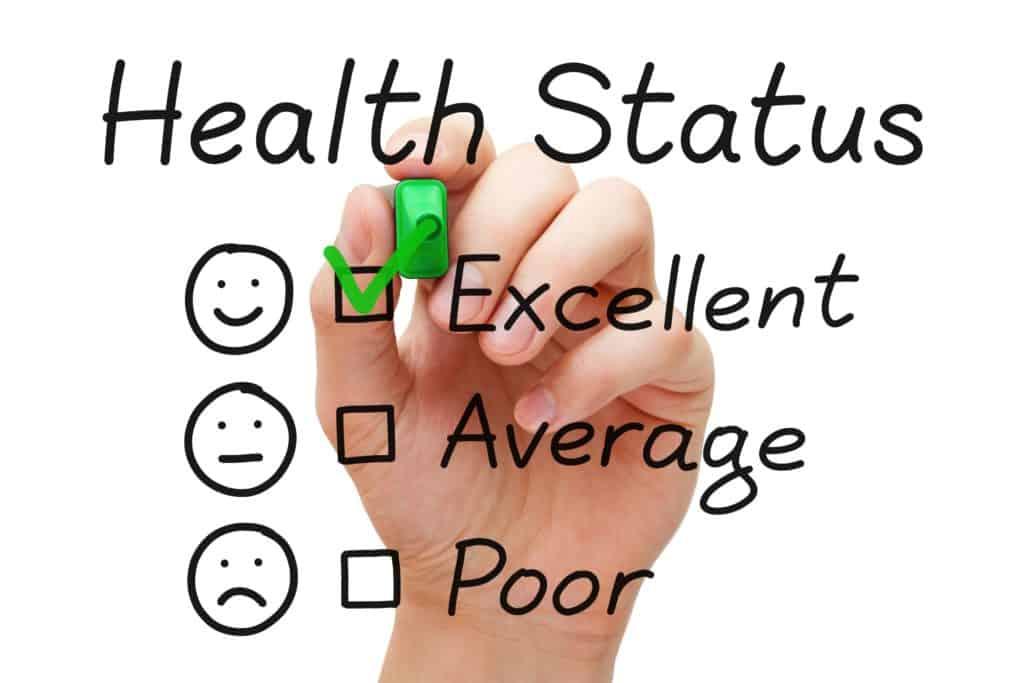 Excellent Health Status Survey