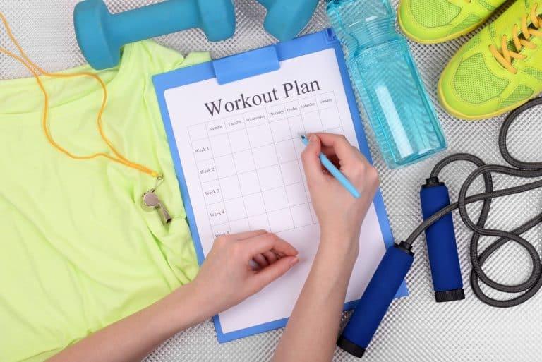 Designing An Effective Workout Schedule