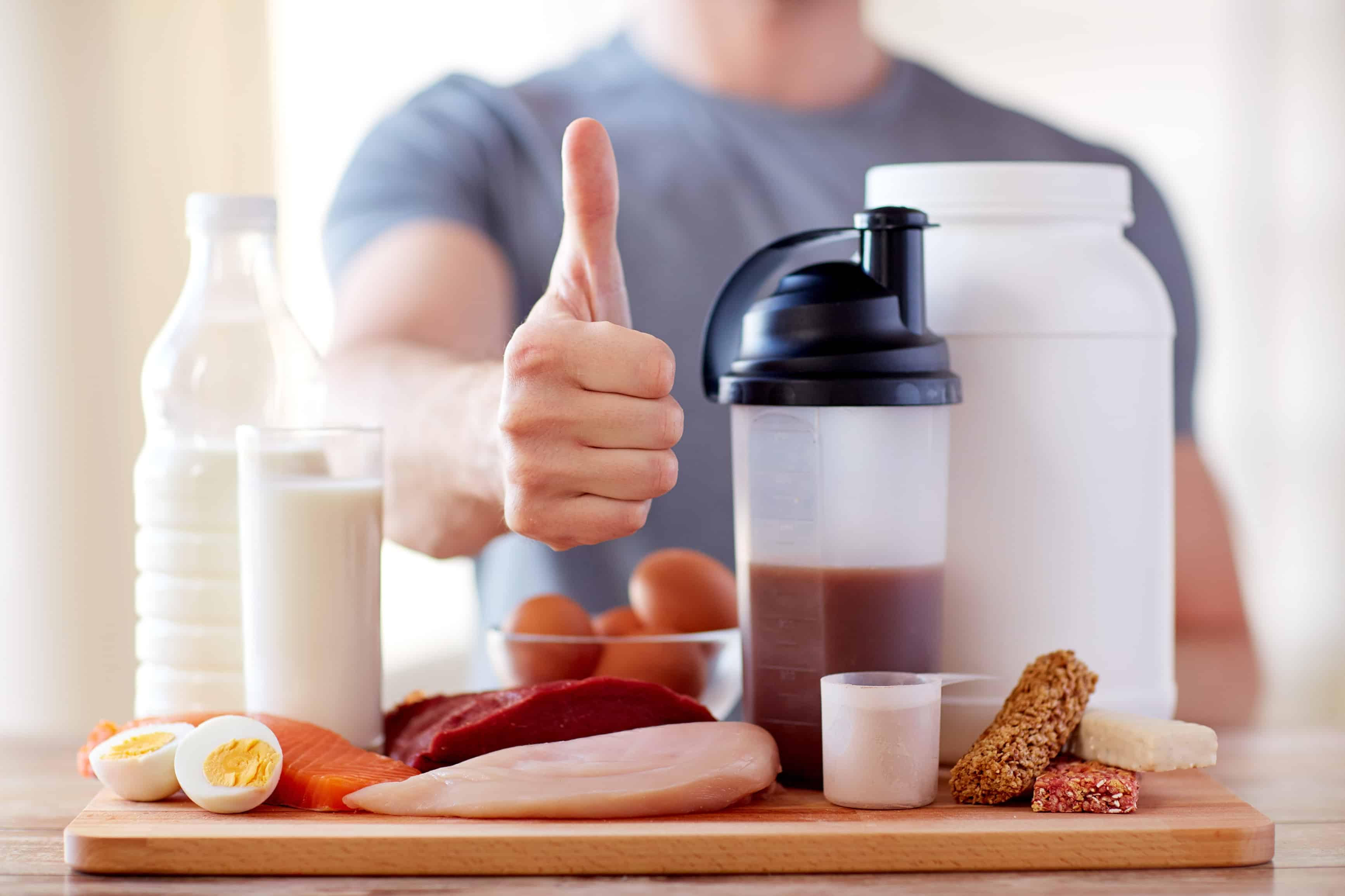 Bulk up with this muscle building recipes