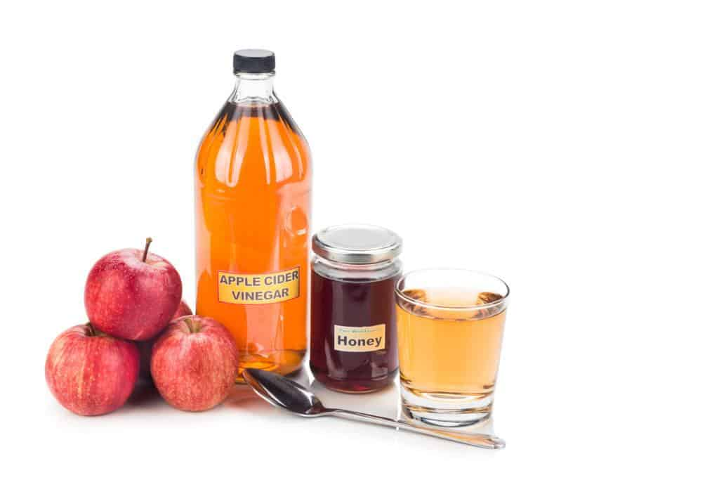 homemade detox drinks for weight loss:apple cider vinegar and honey