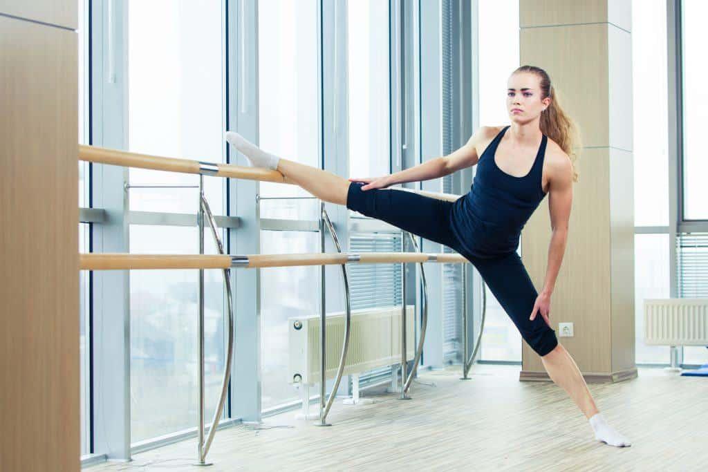 celebrity workout:barre workout