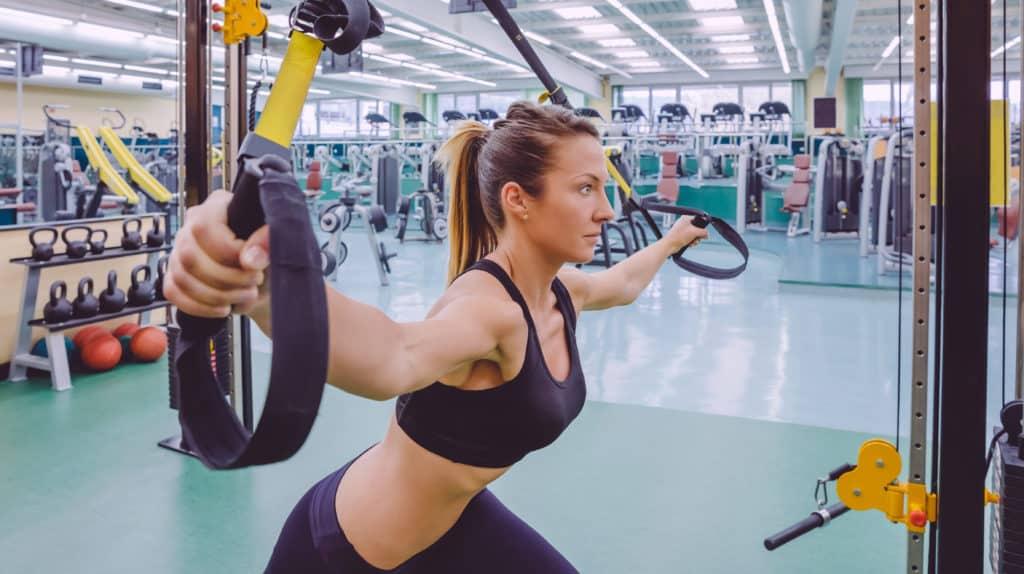 Celebrity workouts:TRX Suspension Training