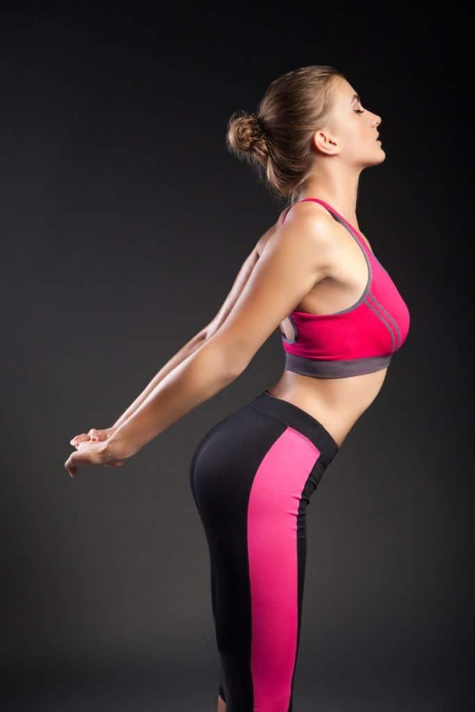 Stretching exercises:forward hang