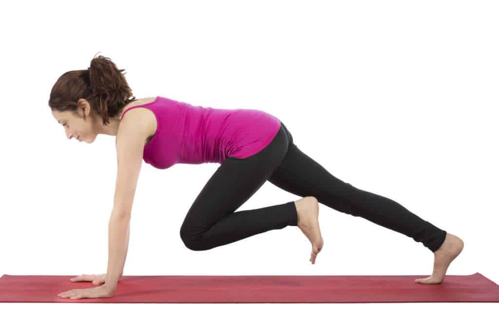 Workout Routines For Women At Homecross-body mountain climber