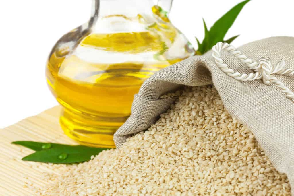 sesame seeds:healthy cooking oil
