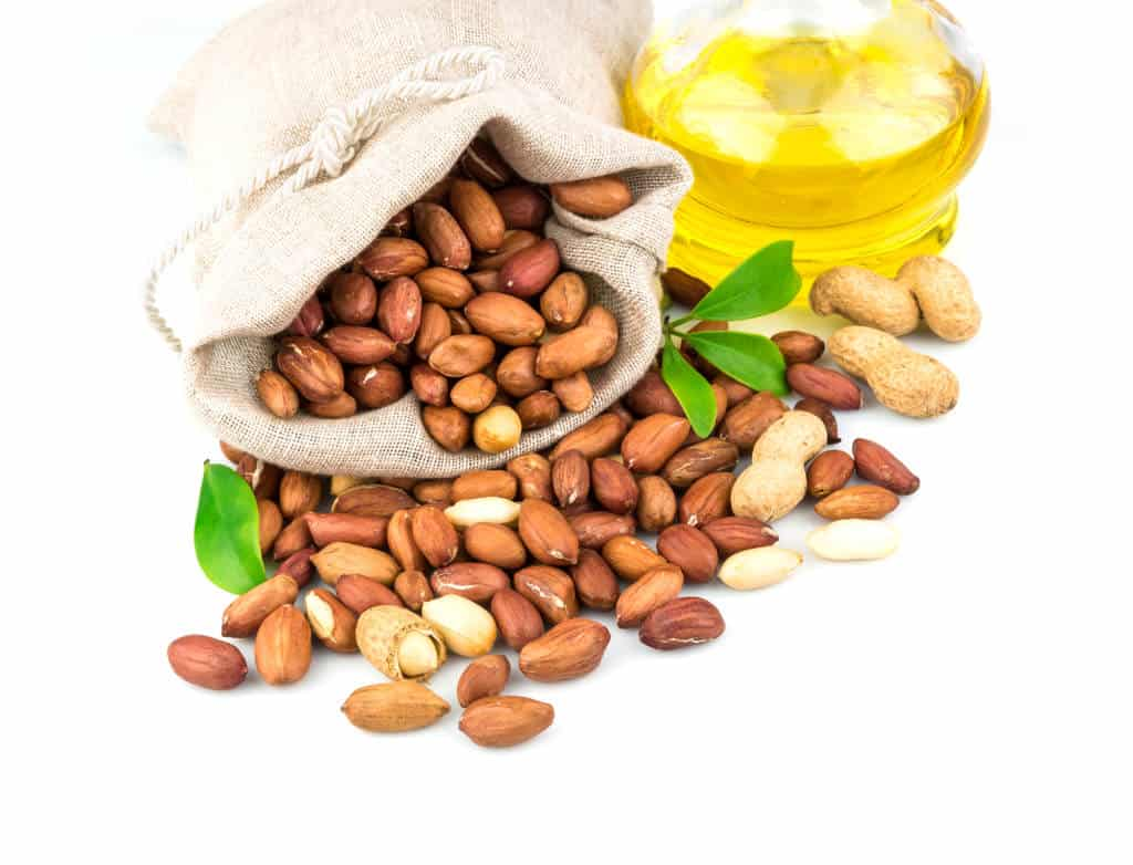healthy cooking oil:peanut oil