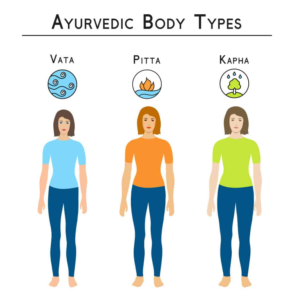 ayurvedic diet and body types