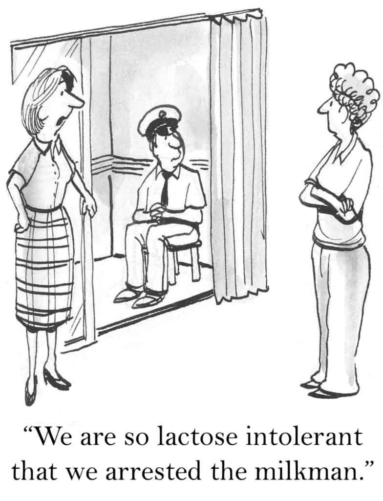 benefits of probiotic supplements:lactose intolerance