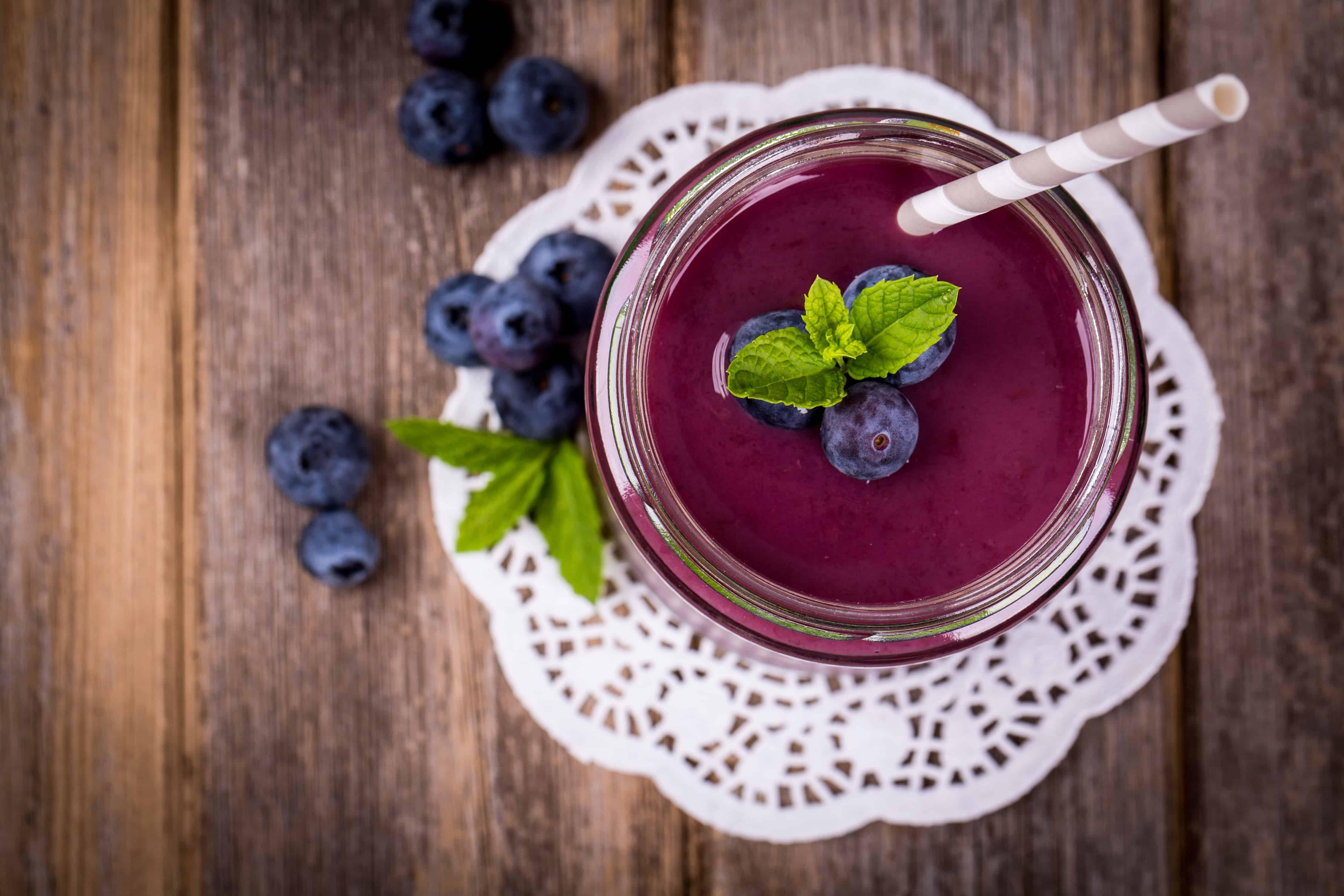 Amazing blueberry juice benefits