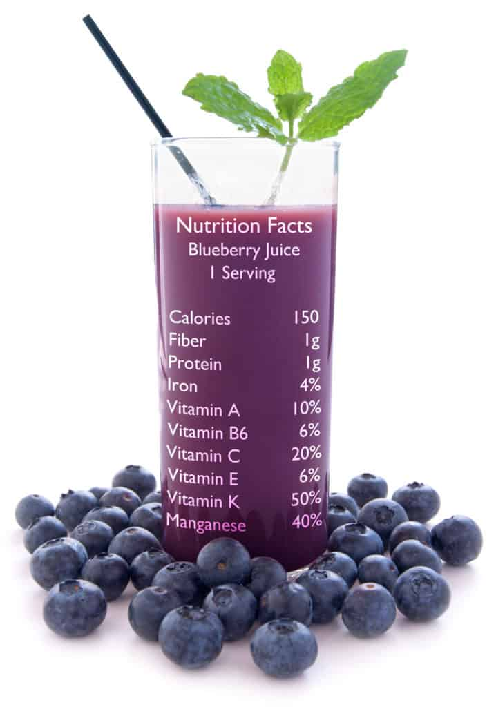 Blueberry juice benefits