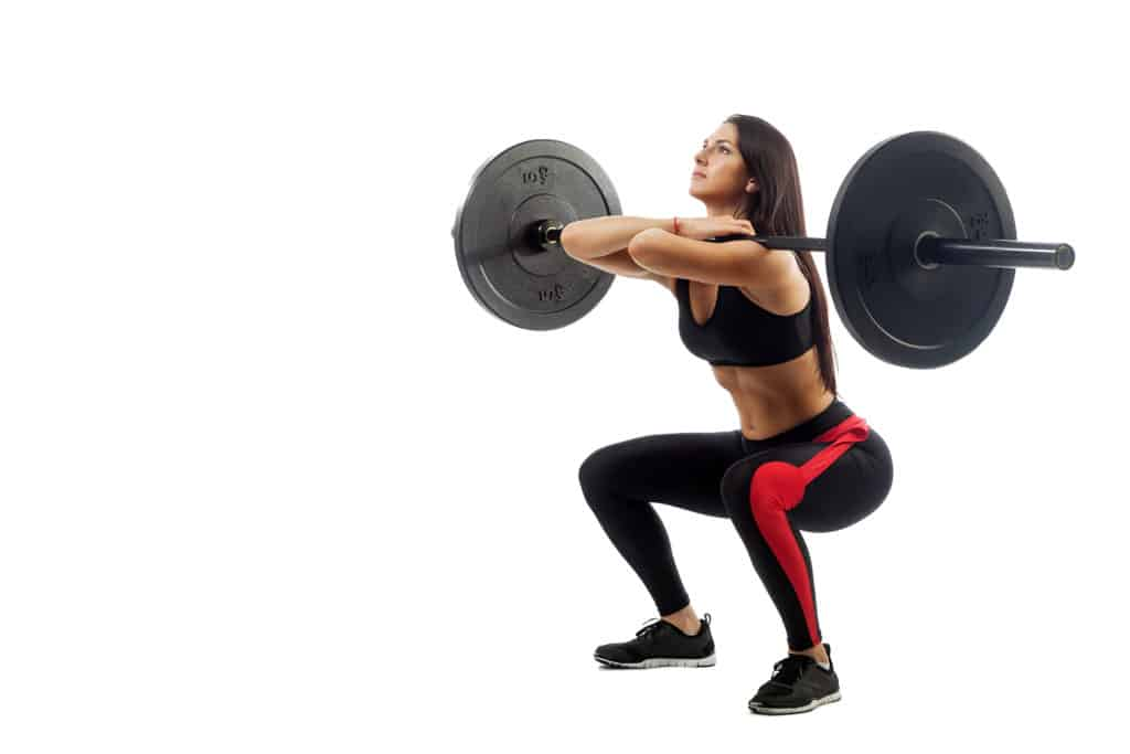 Best Crossfit workouts:Front Squats