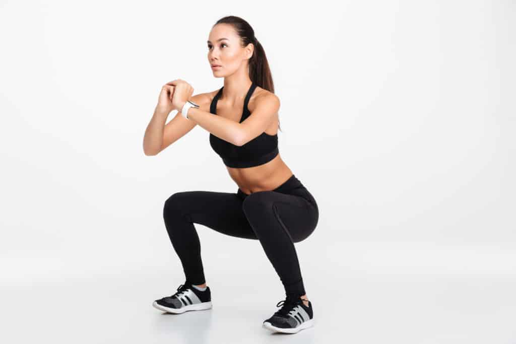 Top Crossfit workouts for beginners:air squats