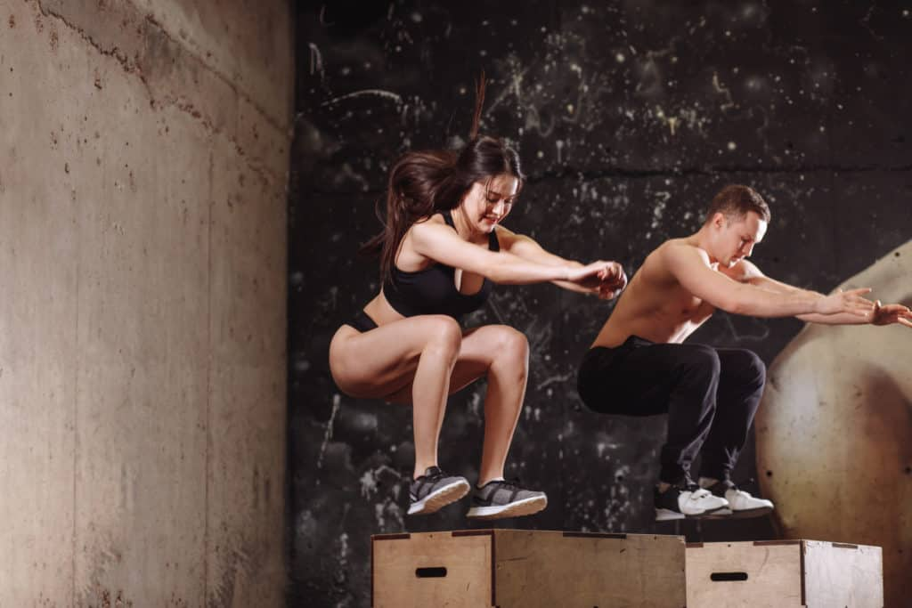 :Crossfit workouts for beginners:Jump Box