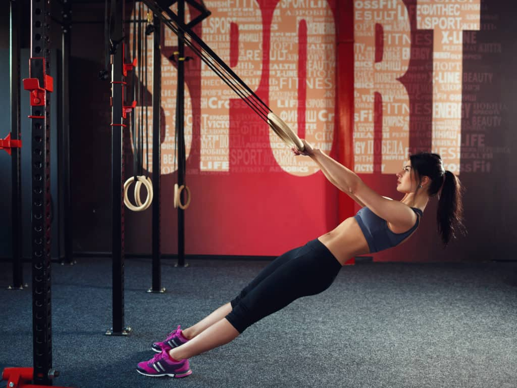 CrossFit Workouts:ring rows