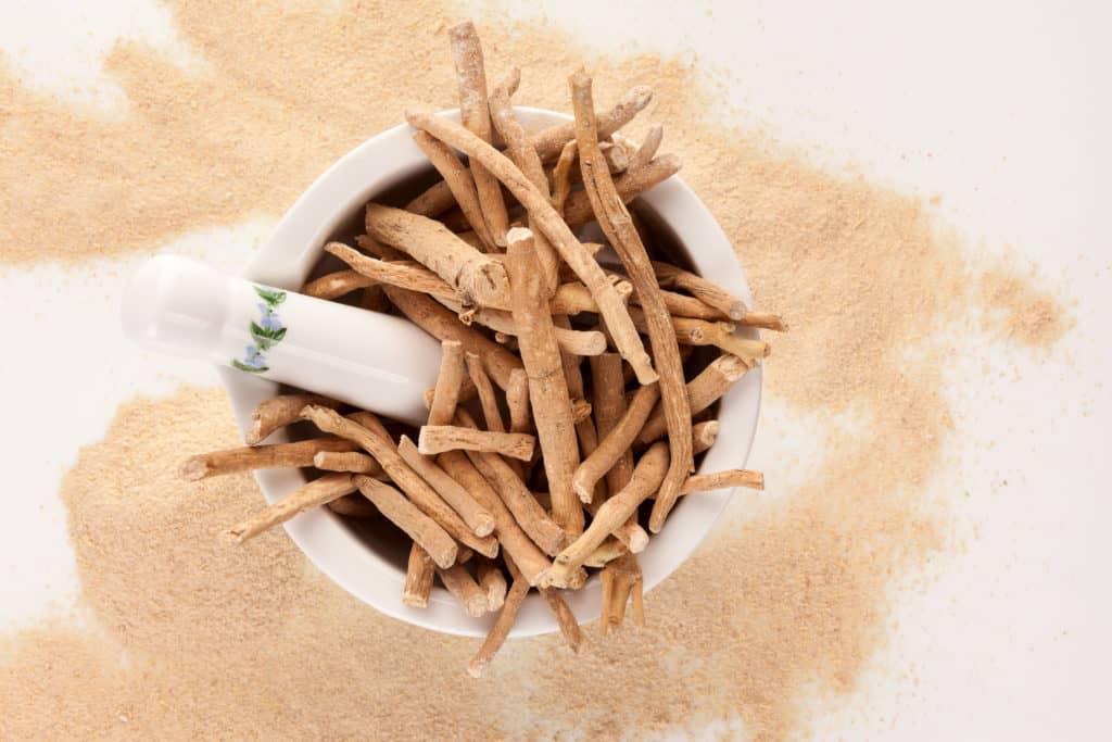 Adaptogenic herbs:Ashwagandha root