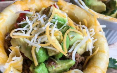 Keto Taco Bowls And Avocado Salsa Recipe