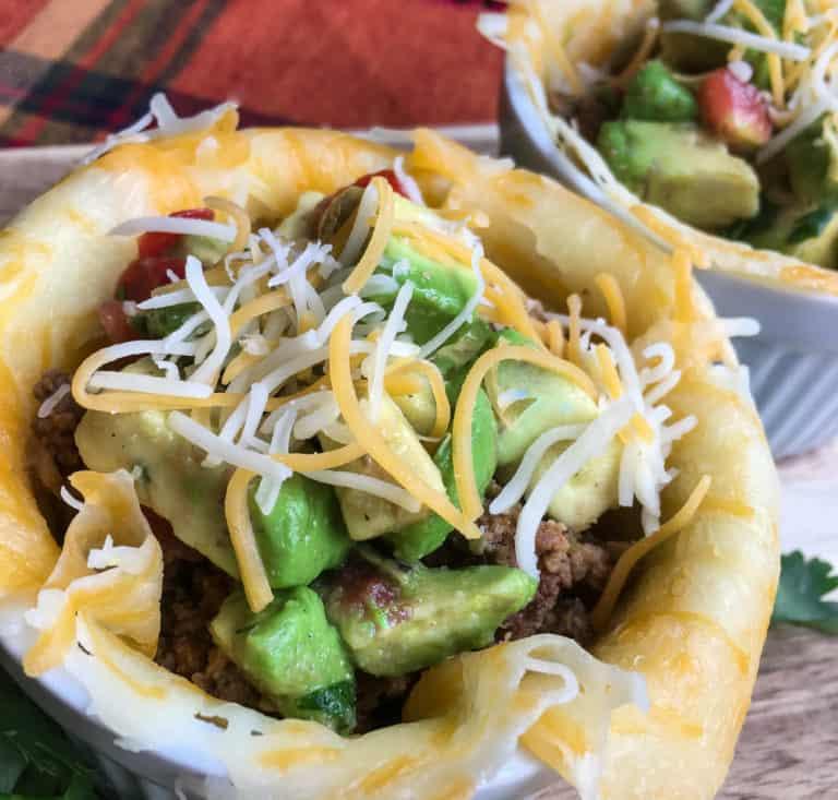 Keto Taco Bowls With Avocado Salsa Recipe