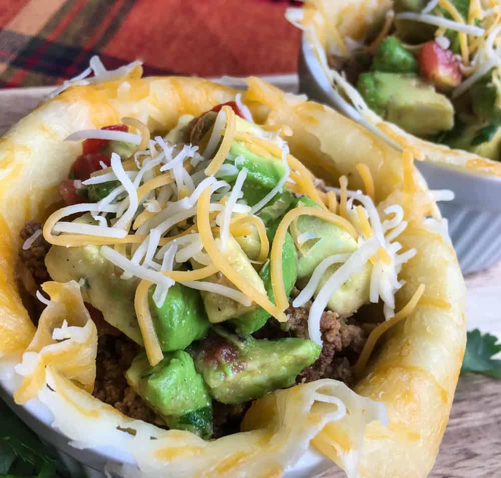 Keto Taco Bowls And Avocado Salsa Recipe