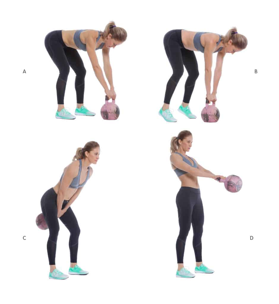 Kettlebell Workout Routines:Kettlebell Swings