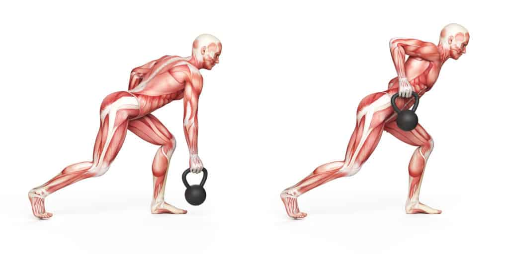 Best Kettlebell Workout Routines:Kettlebell Rows