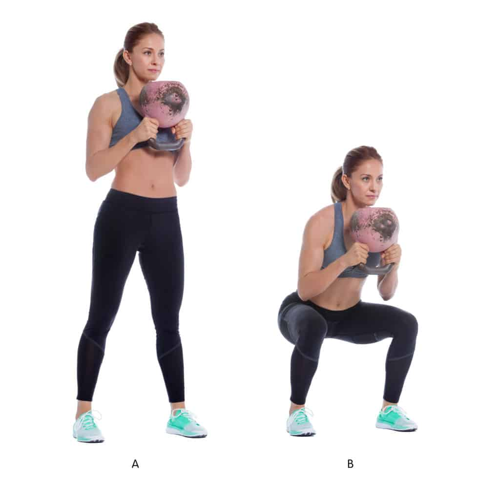 Kettlebell Workout Routines:Squats
