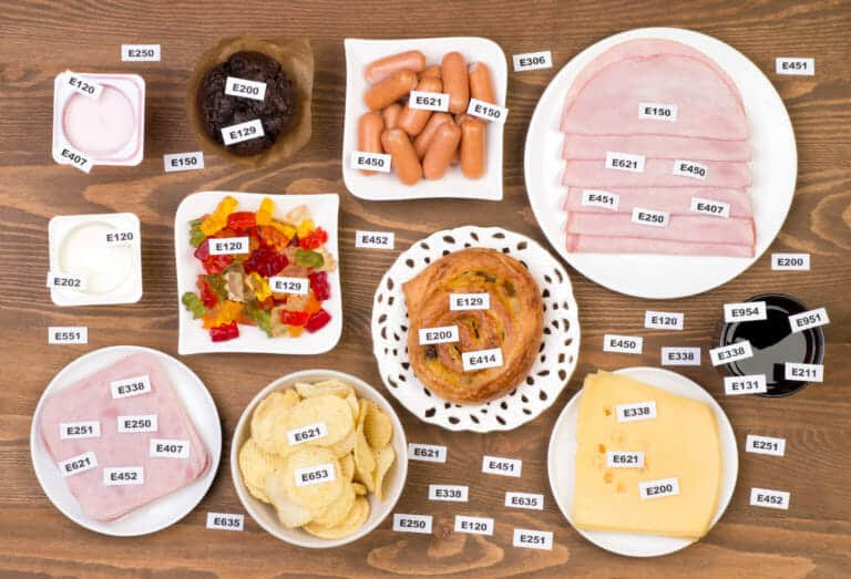 Food Additives and Unhealthiness: Do You Know What's In Your Food?