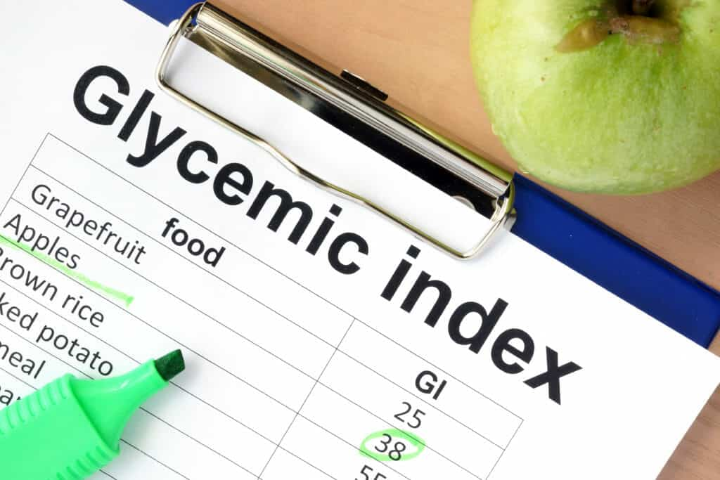 Low Glycemic Carbohydrates