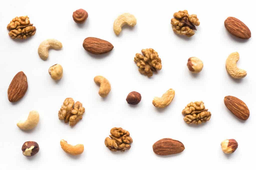 Best Foods For Muscle Growth:nuts