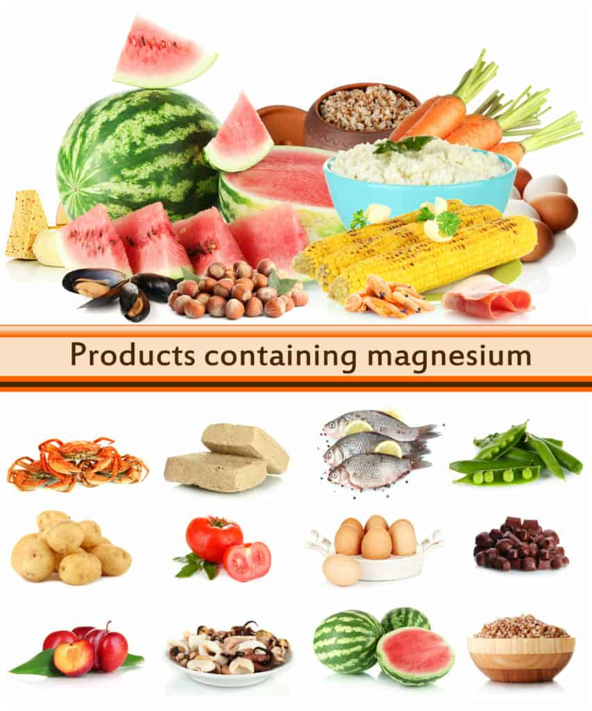 Supplements for people over fifty:Magnesium