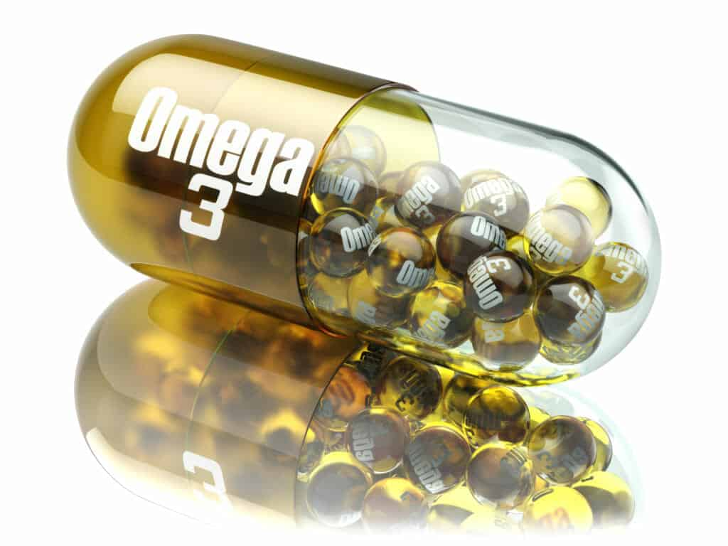 Effective Supplements for people over fifty:Omega 3