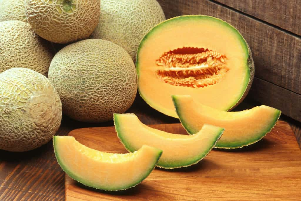 Best Foods For Hydration:Cantaloupe