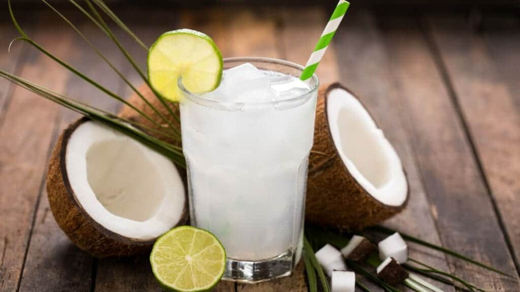 Best Foods For Hydration:Coconut Water