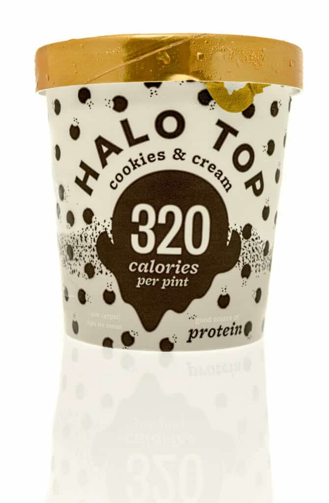 Healthy Ice Cream Brands:Halo Top