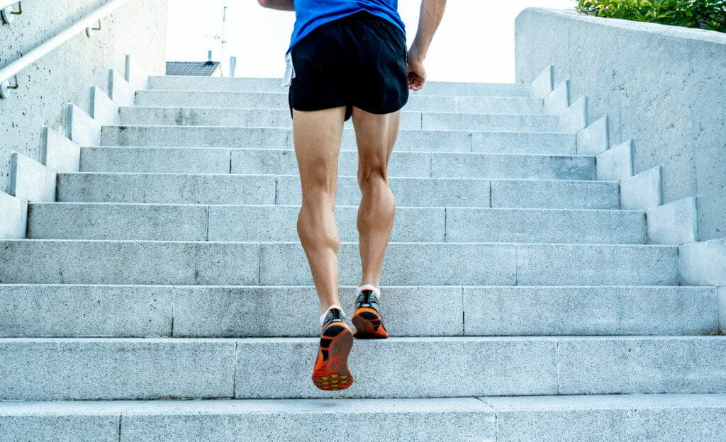 What type of running should you do to improve endurance fitness?