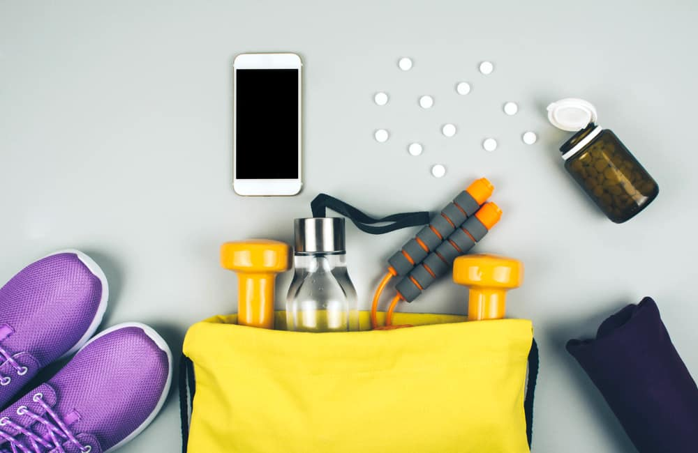 Fitness abstract healthy lifestyle concept. Sport and illness.