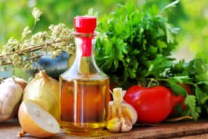 Olive oil and Mediterranean cuisine Ingredients